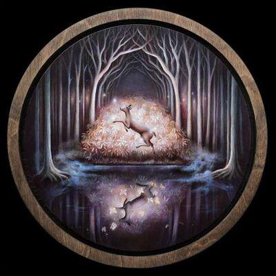 Kimera Wachna, 'Black Woods Water', 2020