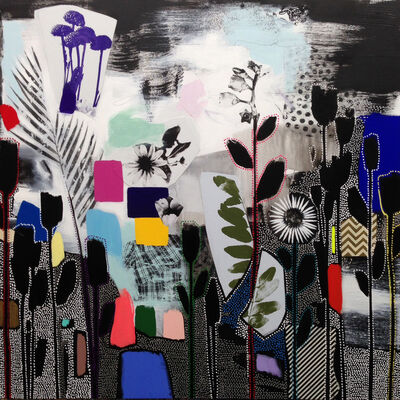 Emily Filler, 'Dreamscape (green leaves)', 2017