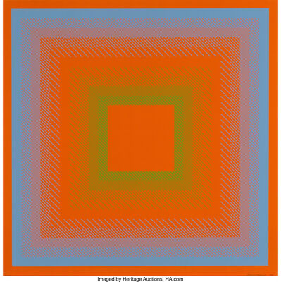 Richard Anuszkiewicz, 'Untitled, from Spectral Cadmium (two works)', 1968