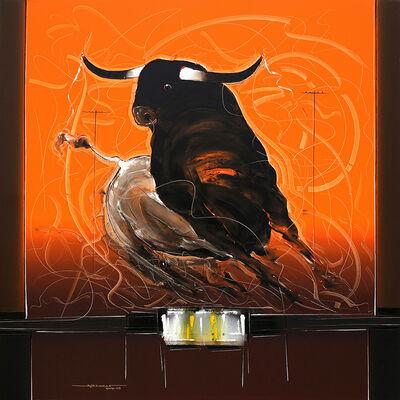 Sujth Kumar G.S. Mandya, 'Bull Painting - 59', 2013
