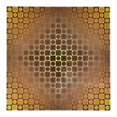 Victor Vasarely, 'Alom Yellow/Yellow', 1971