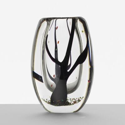 Vicke Lindstrand, 'Trees in the Mist vase', 1951