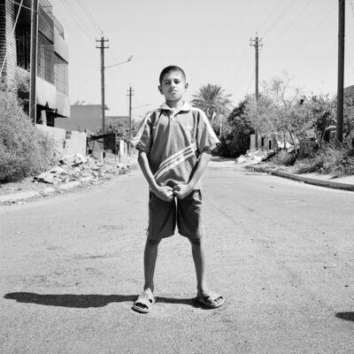 Sean Hemmerle, 'Athlete, Baghdad, Iraq', 2003