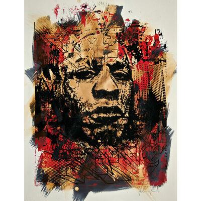 Vhils, 'Deface', 2010