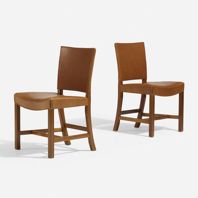 Kaare Klint, 'Barcelona chairs model 3758, pair', 1927