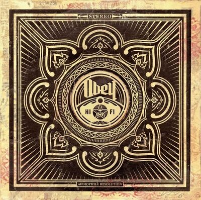 Shepard Fairey, 'Hi-Fi Lotus HPM on Album Cover', 2014