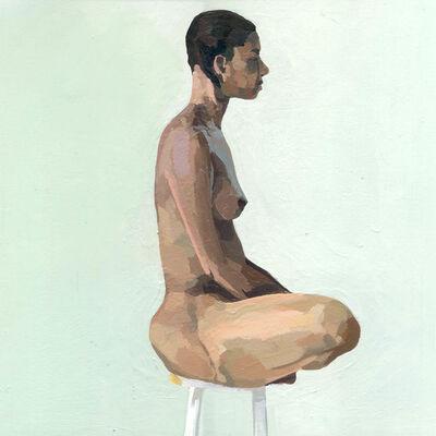 Ingrid Capozzoli Flinn, 'Nude on Stool in Profile', 2006