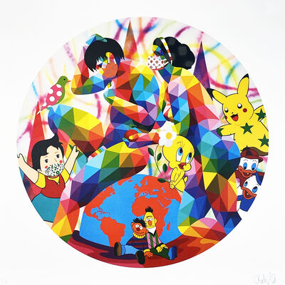Okuda San Miguel, ''Love in Pandemia'', 2020