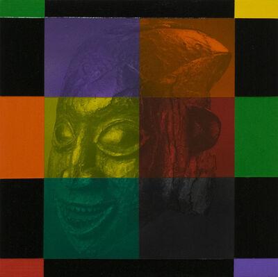 Rico Gatson, 'Mask Painting #4', 2018