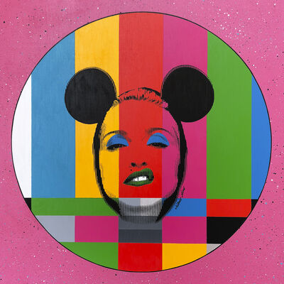 Silvio Alino, 'Pop Icon Test Card Series Pink', 2018