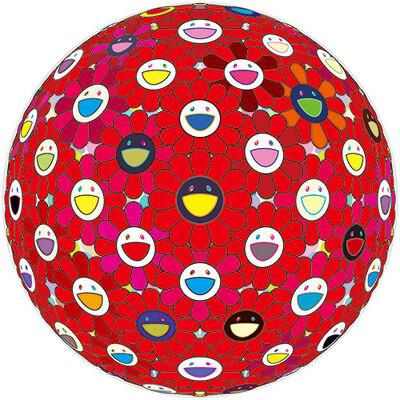 Takashi Murakami, 'Flower Ball: Bright Red 30/300', 2017