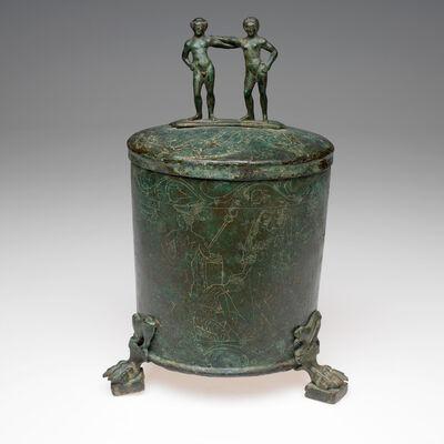 'Lidded box (cista), Etruscan', late 4th -mid 3rd century B.C.