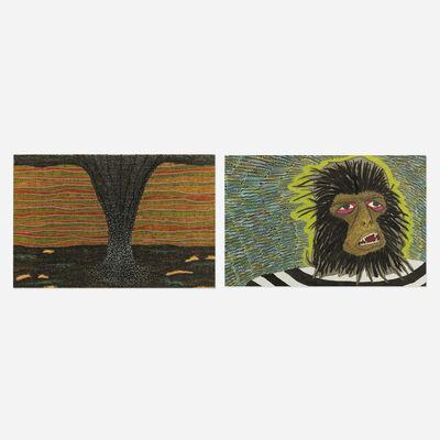 Beatriz Monteavaro, 'Black Smoke and Gators and Pablo Transformed (two works)', 2004