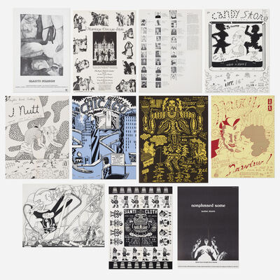 Hairy Who, 'collection of eleven posters by Jim Falconer, Art Green, Gladys Nilsson, Jim Nutt, Suellen Rocca and Karl Wirsum', 1968-1970