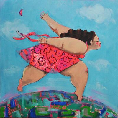 Esraa Zidan, 'I was born to fly II', 2019