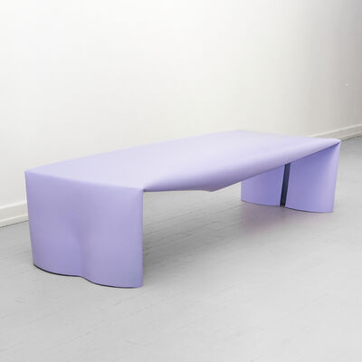 Soft Baroque, 'Steel Bench', 2020