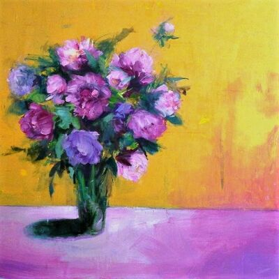 Carmelo Blandino, 'Peony Bouquet', 2015