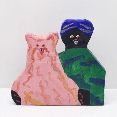 Misaki Kawai, 'Fuzzy Couple', 2018