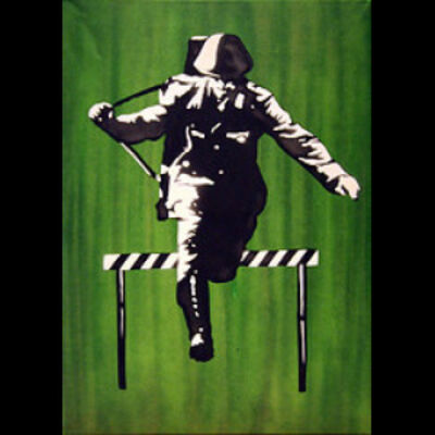 Martin Whatson, 'Jumping Soldier'