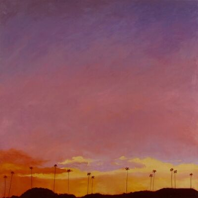 Bradley Hankey, '#another #day #another #freeway #sunset', 2013