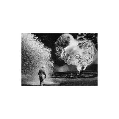 Sebastião Salgado, 'Fireball, Kuwait', 1991