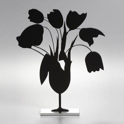 Donald Sultan, 'Donald Sultan, Black Tulips and Vase, April 5, 2014', 2014
