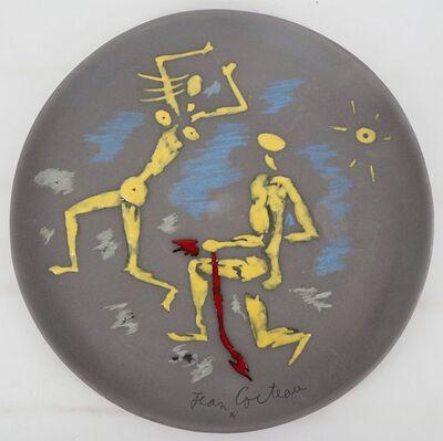 Jean Cocteau, 'Atalante et Hippomème', 1958
