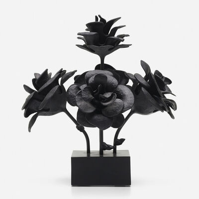 Will Ryman, '60th Street Rose Maquette (black)', 2012