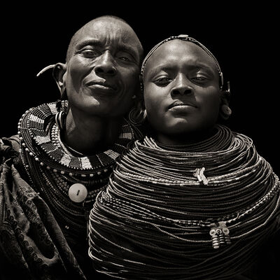 Dana Gluckstein, 'Samburu Woman, Kenya', 1985