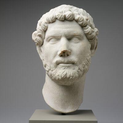 'Portrait of Hadrian, Roman', ca. 130
