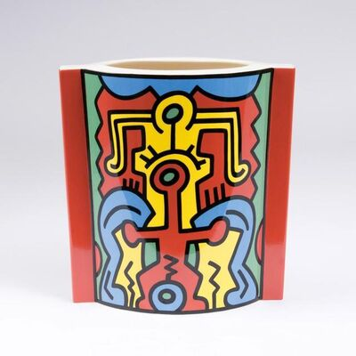 "Keith Haring, 'Sculptural Vase No. 2 ""Spirit of Art - Series SoHo""', 1992"