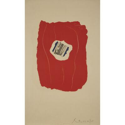 Robert Motherwell, 'Tricolor', 1973