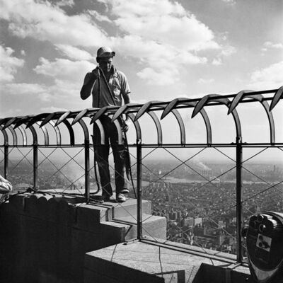 Vivian Maier, 'VM1954W02910-05-MC - New York, 1954, The Empire State Building', Printed 2017