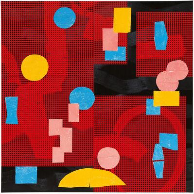 Yves Zurstrassen, '18 08 08 Fond Rouge', 2018