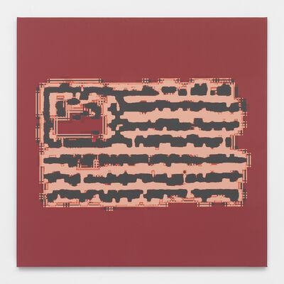 Mark Flood, 'Implanted Chip Flag', 2014