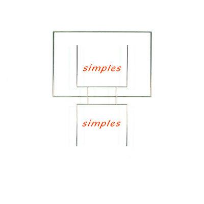 Waltercio Caldas, 'Simples, Simples', 2004