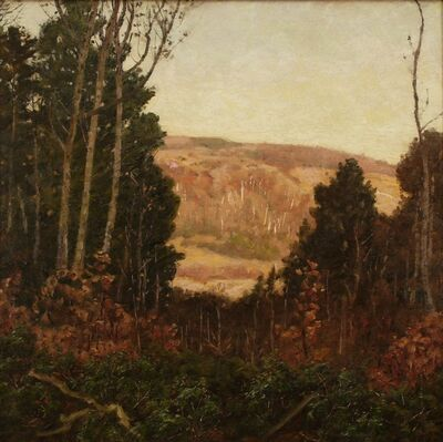 Ben Foster, 'Hill and Valley', ca. 1910