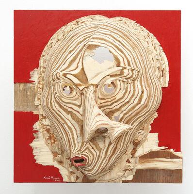 Aimé Mpane, 'La Demoiselle Pende / Masque Bi-face Picasso-Pende #13', 2014