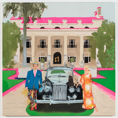 Liz Markus, 'Mr and Mrs Donald Leas with Rolls', 2018