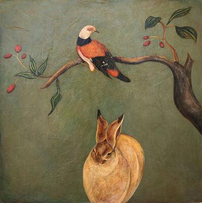 "Phyllis Stapler, '""Snow Hare""', 2011"