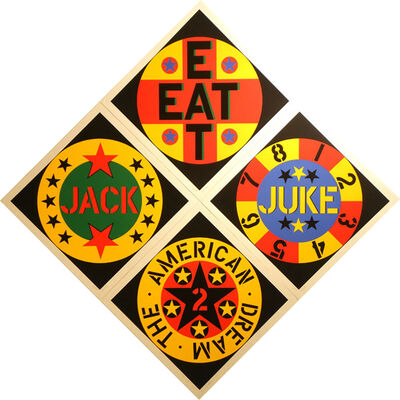 Robert Indiana, 'American Dream #2', 1982