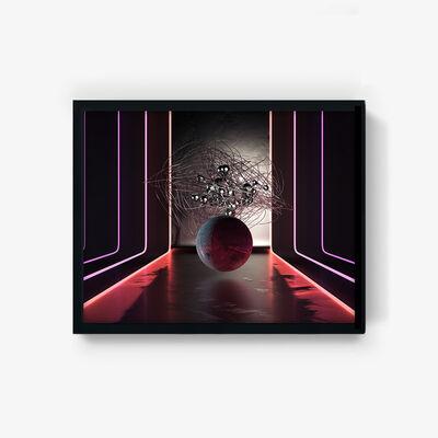 Auberon Kuo, 'Neon Moon', 2019