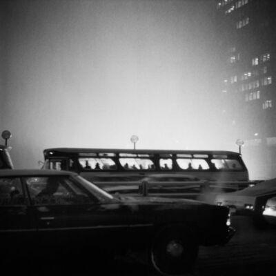 Vivian Maier, 'Bus At Dusk', n.d.