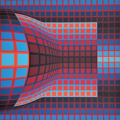 Victor Vasarely, 'Optical Cube', 1975