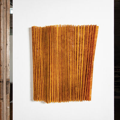 Mia Olsson, 'Pleated, Golden', 2020