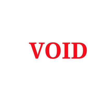UBIK, 'A Void'