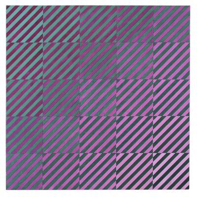 Mario Ballocco, 'Compenetrazione cromatica', 1969