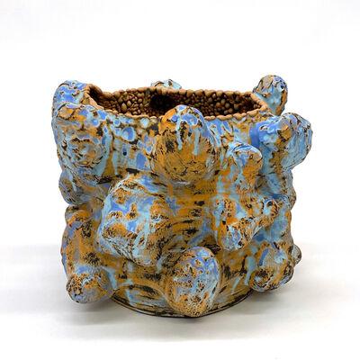 Vince Palacios, 'Blue and Gold No1019', 2020