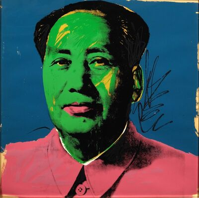 Andy Warhol, 'Mao', 1972
