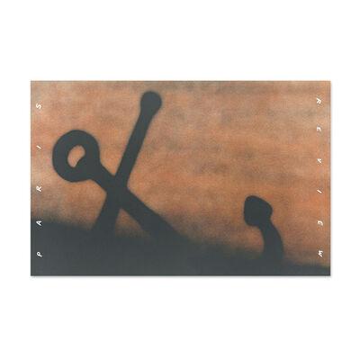 Ed Ruscha, 'Anchor in Sand', 1991